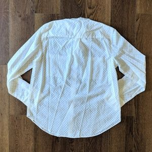 Madewell Tops - Madewell Tie-Neck Blouse in Sheerdrop
